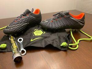 Discutir Alboroto Marcha mala  Nike Hypervenom Phantom 3 Elite SG-PRO AC AH7277-081/082 Grey Soccer Cleat  Sz7.5   eBay