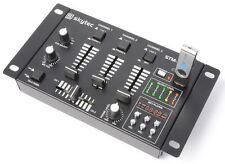 TABLE DE MIXAGE MIXER DJ USB 6 CANAUX AVEC USB/MP3 2xPHONO 3xLIGNE 1xMP3