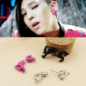 New-SHINee-Key-Unicorn-SINGLE-Earring-Free-Shippng-Made-in-Korea-FR379