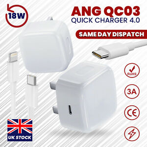 100% Genuine CE charger PD plug cable For iPhone 12 PRO MAX 11 XR X XS MAX 8