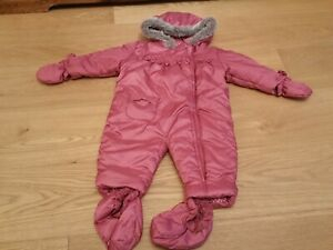Mothercare Boys Red Puff Coat Aged 6-9 Months