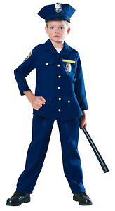 Young Heroes Child Police Officer Costume Small