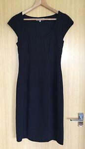 LK-Bennett-Dress-10-Wiggle-Pencil-Fitted-Smart-Work-Career-Plain-Business-Office