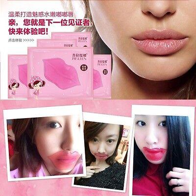 5Pcs Collagen Crystal Lip Care Mask Anti-Aging Membrane Moisture Essence Beauty