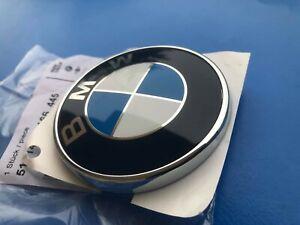 Logo BMW Hood Front BMW Series 1 E88 E82 Badge Original 51147166445 New