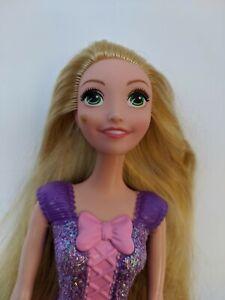 Disney Princess Tangled Rapunzel Doll 11 Mattel 2012 Torso Stained Face Ebay