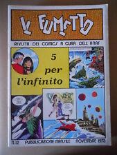 IL FUMETTO Rivista fumetti ANAF n°12 1973 Guido Buzzelli un'artista [G757] BUONO