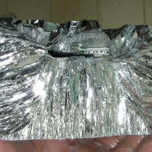 100g Tellurium Ingot 99.99/% High Pure Crystals Geodes For Tellurium Crystals