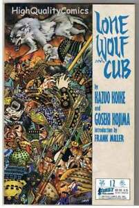 LONE-WOLF-and-CUB-12-NM-Frank-Miller-Koike-Kojima-1987-more-in-store
