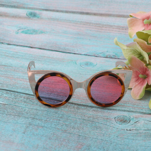 """Fashion Retro Style Glasses Metal Frame for 12/"""" Blythe Doll Accessory Toys"""