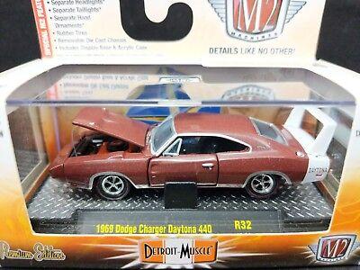 M2 Machines 1969 Dodge Charger Daytona 440 Detroit Muscle R32