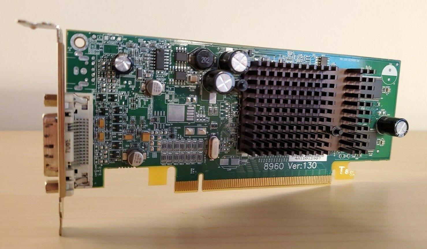 ATI Radeon X300/X550 Series 128MB PCI-e E-G012-04-2903B DMS-59 GPU Low Profile