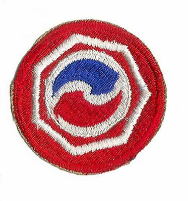 REPRODUCTION 7TH LOGISTICAL COMMAND UNIT PATCH WWII