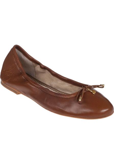 a159397ee48 Sam Edelman Felicia Saddle Leather Flat Ballet Pump Women s sizes ...