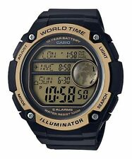 Casio AE3000W-9AV, World Time Digital Watch, 5 Alarms, 100 Meter WR, Chronograph