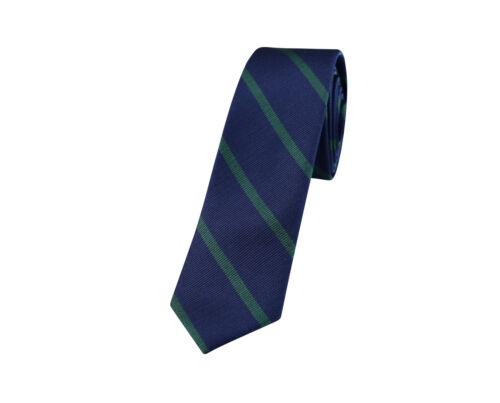 Baumwolle Schmale Krawatte Streifen Polka Kariert Blau Schwarz Weiß Schmal