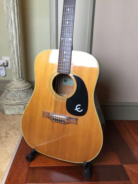 Epiphone Guitar Models : buy vintage 1970 39 s epiphone acoustic guitar model ft 145 made in japan online ebay ~ Russianpoet.info Haus und Dekorationen