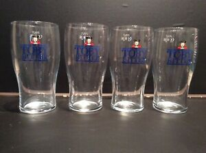 Toby-Bitter-Pint-Glasses-x4-CE-Marked-New-And-Unused-Rare-Item
