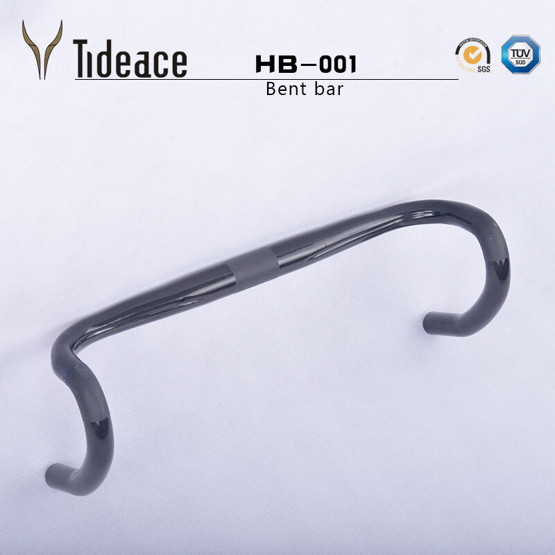 Cycling Road Bike Handlebar Bent Bar Carbon Fiber Bicycle Handlebar 31.8mm