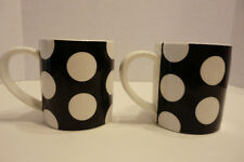 item 2 Maxwell u0026 Williams Designer Homewares Black u0026 White Polkadot Mugs-Set of 2 -Maxwell u0026 Williams Designer Homewares Black u0026 White Polkadot Mugs-Set of ... & Maxwell u0026 Williams Sprinkle Dinnerware White Set of Sixteen | eBay