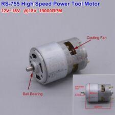 JOHNSON RS-755 DC 6V-12V 14000RPM High Speed Power Large Torque Motor Drill Tool