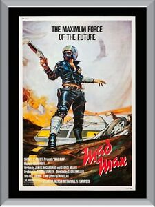 mad max original movie a1 to a4 size poster prints ebay