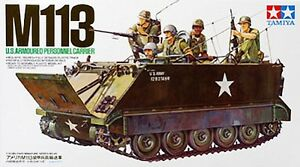Tamiya U.S. M113 APC Armored Personnel Carrier model kit 1/35