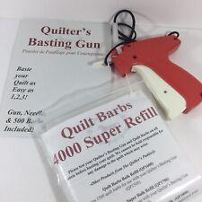 Dennison Quilting Fine Fabric Price Tagging Gun 10312 4000 12 Clear Barbs