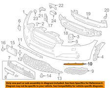 JAGUAR OEM 10-15 XJ-Bumper Trim-Molding Trim C2D3572
