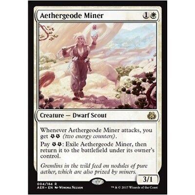 White Uncommon Magic Card AER Aether Revolt 4x MTG: Aerial Modification