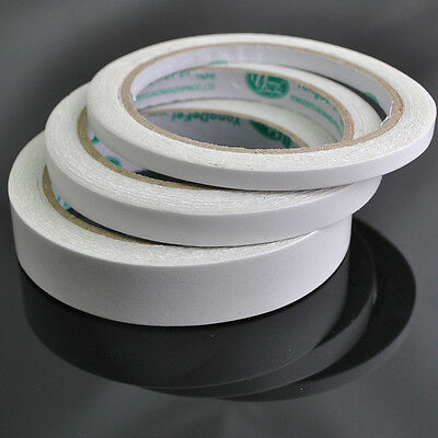 Wholesale 1 Roll White DIY Double-sided Adhesive Tape With Width 6/10/20mm DZ171