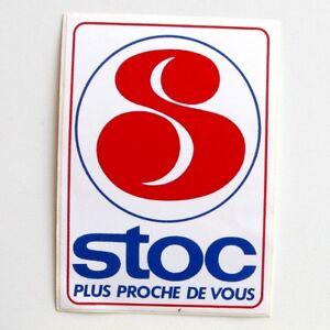 Autocollant-Stoc-Supermarche-Sticker-collector-Annee-80-90