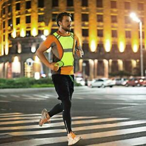 aa3b66f92 Image is loading High-Visibility-Hi-Vis-Running-Vest-Reflective-Cycling-