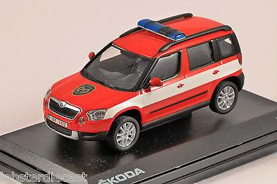 SKODA YETI CZECH FIRE 1/43 scale model ABREX