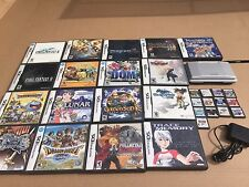 Nintendo DS 30 RPG Lot Lunar Chrono Trigger Castlevania Final Fantasy Pokemon