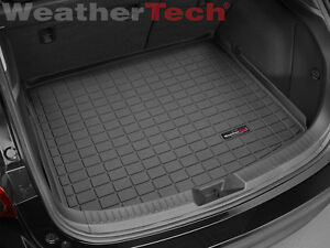 weathertech cargo liner for mazda mazda3 hatchback 2014 2018 black ebay. Black Bedroom Furniture Sets. Home Design Ideas