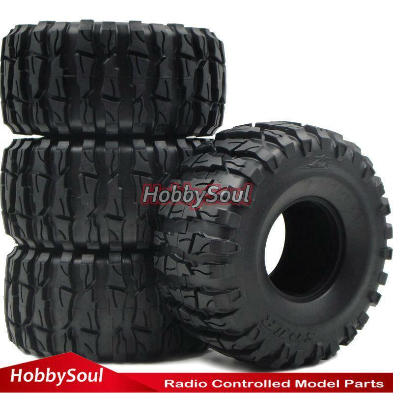 4 un. RC 2.2 Crawler barro Neumáticos Neumáticos altura 135mm ajuste RC 2.2  mm RUEDA LLANTA