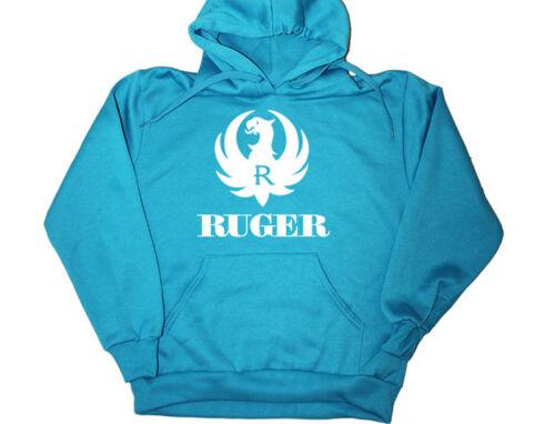 Ruger Hoodie Gun Brand 2nd Amendment Firearms Shirt Crewneck Sweatshirt 9mm #5