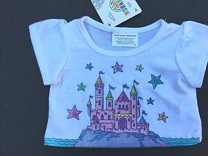 New Castle T-Shirt Teddy Clothes Build a Bear Full Size Teddy Bear Clothing