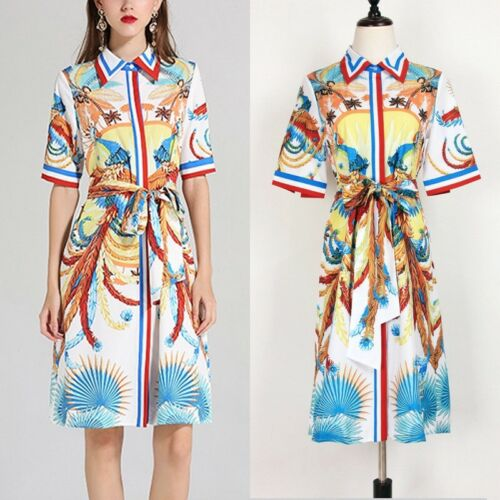 DMS 17 Women RUNWAY designer inspired SUMMER DRESS plus size