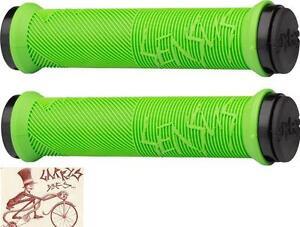 ODI SENSUS DISISDABOSS LOCK-ON BLACK BMX-MTB BICYCLE GRIPS