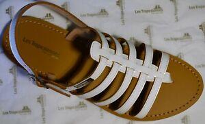 ZOR-LES-TROPEZIENNES-sandales-cuir-HERILO-blanc-EN-PROMO