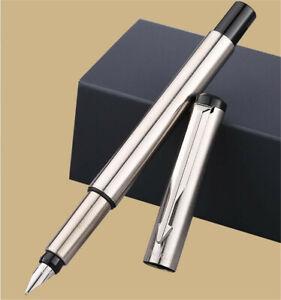 Original Parker Vector Stainless Color Fine Nib Fountain Pen