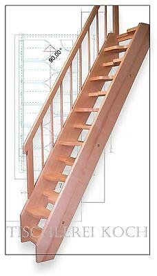 raumspartreppe gerade treppe holztreppe bodentreppe ebay