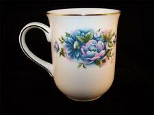 Royal Canterbury - Blue & Pink Flowers - Fine Bone China - Coffee Cup