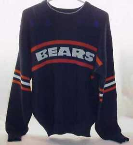 Vintage-Chicago-Bears-Authentic-Pro-Line-Sweater-by-Cliff-Engle-SIZE-XLARGE