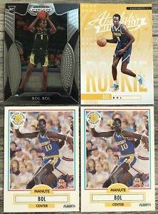2019-20-Panini-Prizm-Bol-Bol-Rookie-Card-RC-Absolute-Memorabilia-Yellow-SP-4-Lot