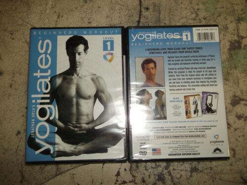 1 of 1 - Yogilates - Beginner's Workout (DVD, 2006)