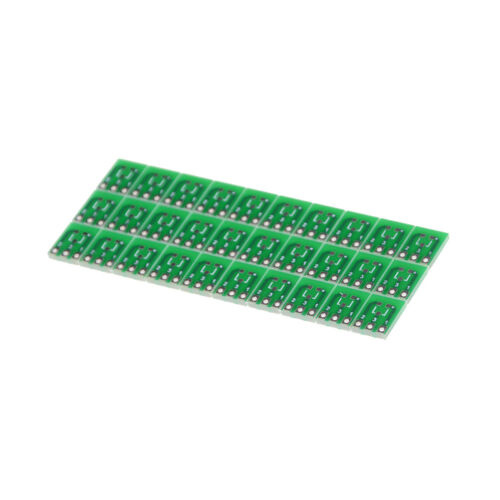 30 Pieces 0.95mm to 2.54mm SOT23 to SIP3 Adapter SMD convert Double Sidesho TDO