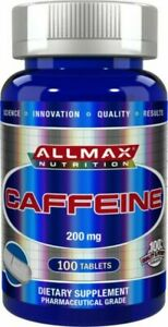 Allmax Nutrition Caffeine 200mg Tablets - 100 Count